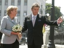 В Киев прибыла канцлер Германии