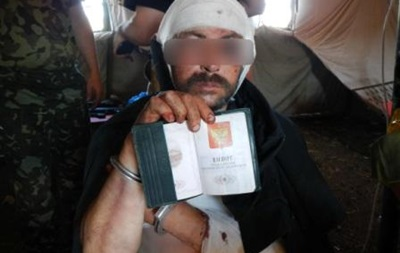 СБУ задержала россиянина, обстрелявшего блокпост недалеко от Славянска