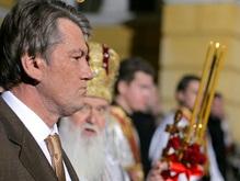 Ющенко поздравил украинцев с Рождеством Христовым