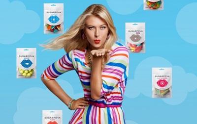 Шарапова решила накормить британцев своими конфетами