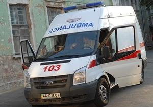 В ДТП на Харьковском шоссе в Киеве пострадали шестеро человек