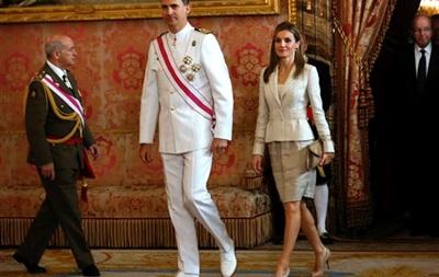 В Испании пройдет коронация принца Фелипе