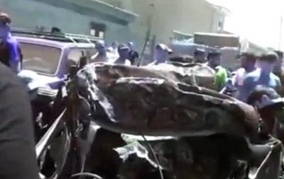 В Дагестане КамАЗ протаранил 18 автомобилей