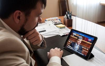 Порошенко проведет переговоры с представителями Донбасса