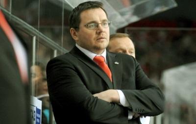 Тренер хоккейной сборной Украины покинул ХК Донбасс