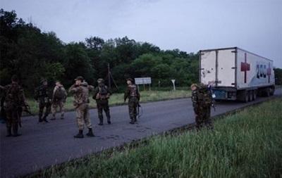 В бюро судмедэкспертизы в Луганске привезли 12 трупов
