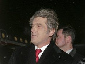 Первыми зарубежными визитами Ющенко в этом году будут поездки в Венгрию и Польшу