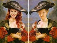 Голливудские знаменитости украсили полотна Рубенса, Рафаэля, Ван Гога