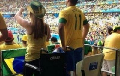 Скандал: На ЧМ-2014 на места для инвалидов в Бразилии ходят здоровые люди