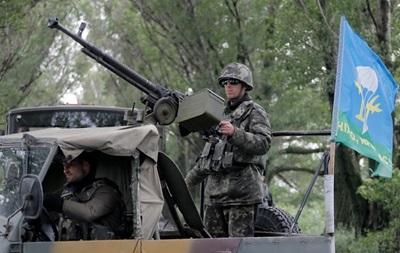 Украинские военные зачистили Ямполь и блокируют Славянск – СНБО