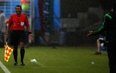 Арбитр отменивший два гола сборной Мексики больше не будет судить на ЧМ-2014