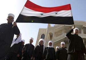 Сирия обвинила США в поощрении насилия. Кортеж американского посла забросали помидорами