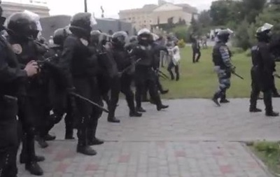 Разгон активистов Майдана в Харькове: подробности инцидента
