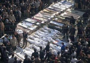 Израиль обвинил Асада, Иран и Хизбаллу в убийстве мирных сирийцев
