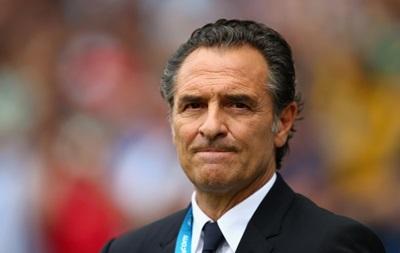 Главный тренер сборной Италии подал в отставку после поражения от Уругвая