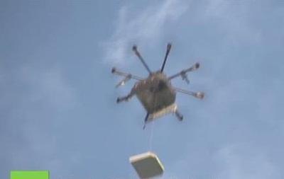 В Сыктывкаре робот-дрон будет доставлять пиццу по воздуху