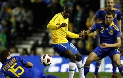 Сборная Украины может провести матч с Бразилией
