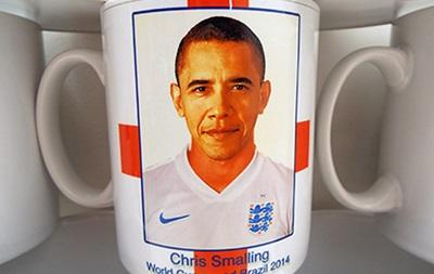 Обама случайно стал защитником сборной Англии по футболу