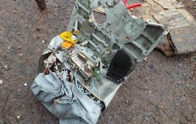 На месте падения вертолета под Славянском нашли самописец