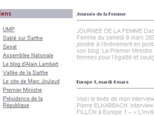 Французский премьер поздравил женщин в интернет-дневнике
