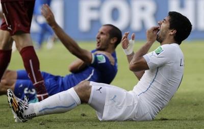 Четыре месяца без футбола: Суарес получил рекордное наказание за укус Кьеллини