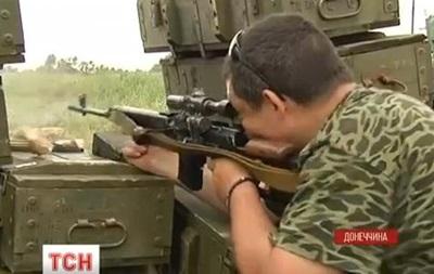 В Краматорске  сепаратисты уничтожили блокпост силовиков: есть погибшие