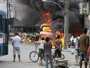 Фотогалерея: Рио-де-Жанейро накрыла нарковойна