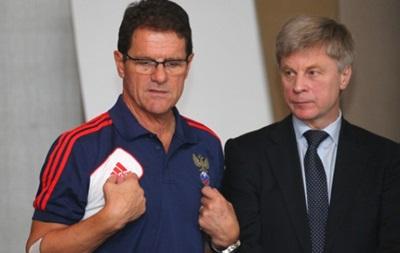 Глава Российского футбольного союза уверен, что Капелло должен остаться в России