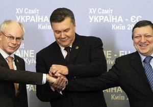 Янукович доволен результатами саммита Украина-ЕС: Он по праву может считаться этапным
