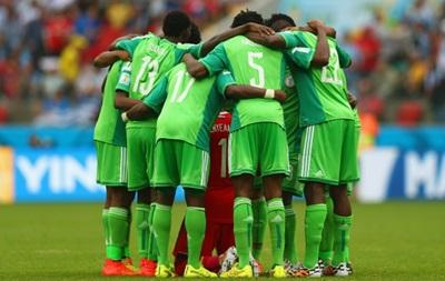 Футболисты сборной Нигерии отказались выйти на тренировку из-за не выплаты премии