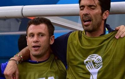 Кассано обвинил Буффона в поражениях сборной Италии