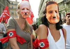 Тысячи французов протестуют против депортации цыган
