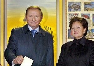 Людмила Кучма: Мы не расцениваем уголовное дело как горе