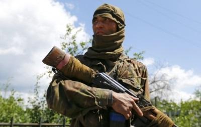 Ополченцы  из минометов обстреливают позиции сил АТО на горе Карачун - Тымчук