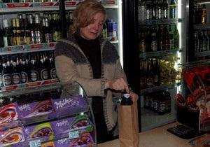 МВД: В Украине не действуют американские законы о распитии пива в пакетах