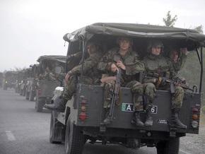 Цхинвали обвинил Грузию в концентрации войск на границе