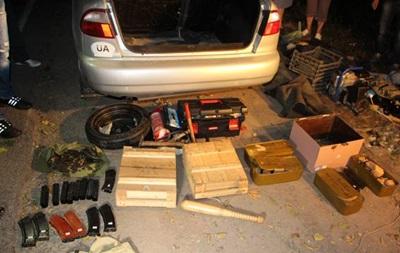 У таксиста нашли оружие, похищенное у милиции во время Майдана
