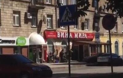 Перестрелки на улицах Донецка - видео