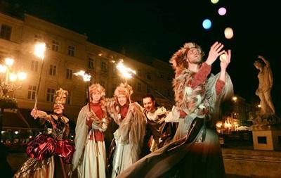 Фестиваль Ночь во Львове