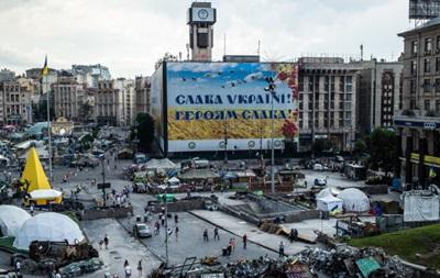 На Майдане Незалежности избили телеоператора
