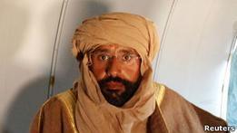 В Гааге беспокоятся о судьбе сына Каддафи