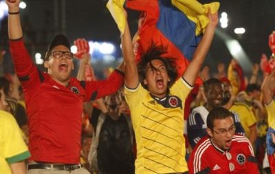 В Колумбии перед матчем с Бразилией запретят продавать муку и пену для бритья