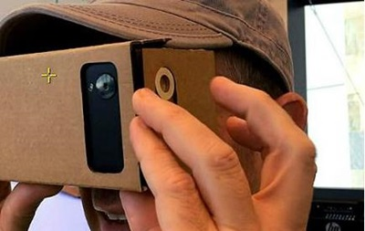 Картонка Google превращает смартфон в 3D-очки