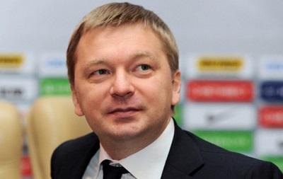 Палкин: Для нас приоритет, чтобы матчи Лиги чемпионов прошли в Украине
