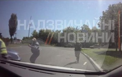 Обнародовано видео расстрела патруля ГАИ в Донецке