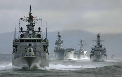 Россия начала военные учения в Черном море