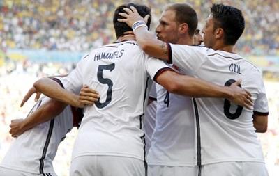 Германия благодаря одному голу выходит в полуфинал чемпионата мира по футболу