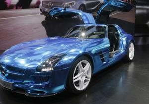 Mercedes-Benz представил в Париже самый быстрый в мире электромобиль