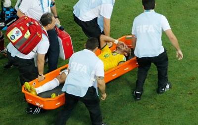 Чемпионат мира для Неймара закончен из-за травмы позвоночника