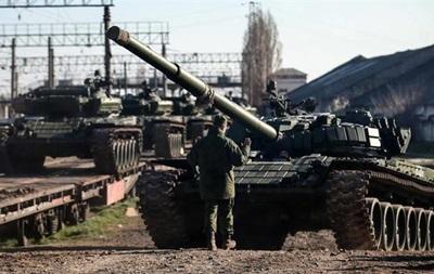 Россия приостановила передачу Украине военной техники из Крыма